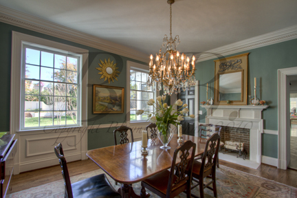This Dining Room Is A Perfect Example Of That Loving The Color Choice