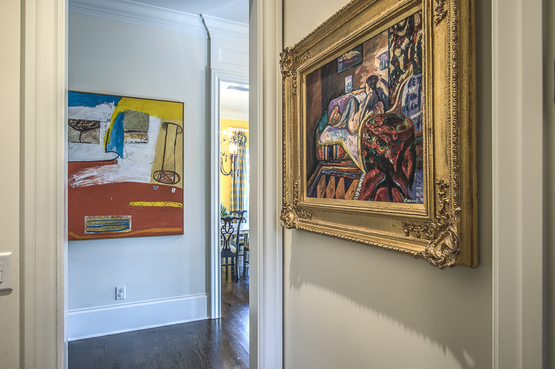 How to Hang Art - Art Lover's Dream Home