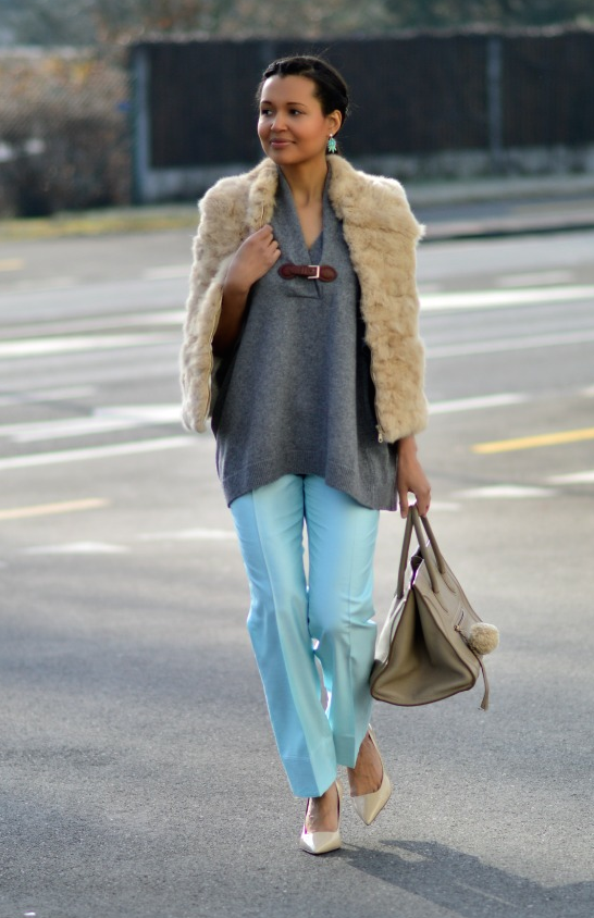 pants + Heels + Sweater + bag - Currently Wearing via This Photographer's Life