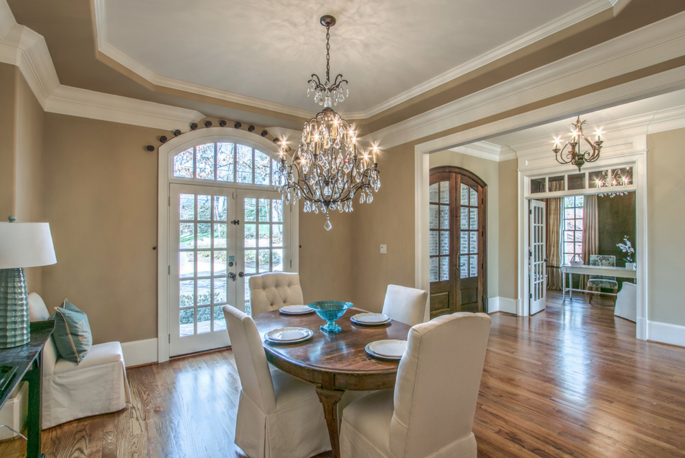Dining room into Foyer