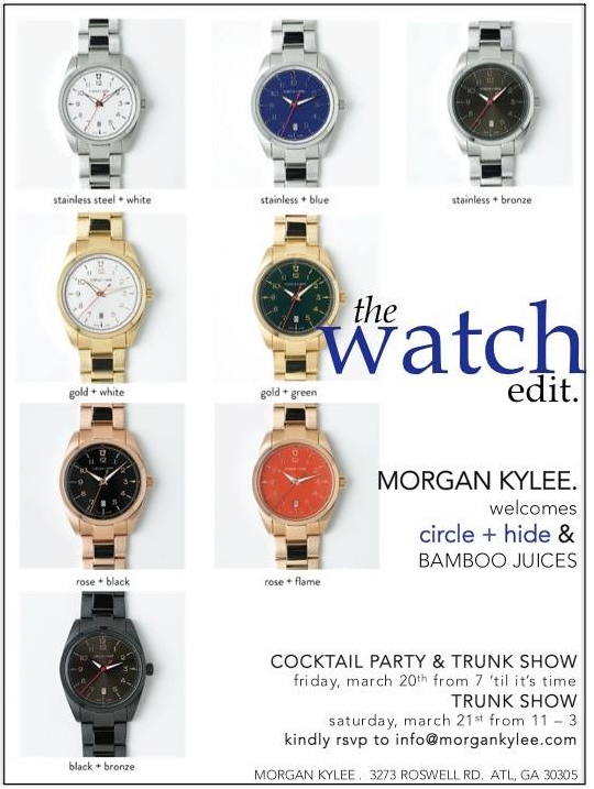 Morgan Kylee Watch invite.