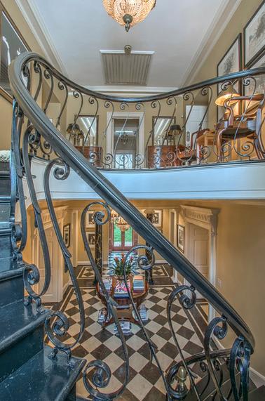 Stair Railing Detail