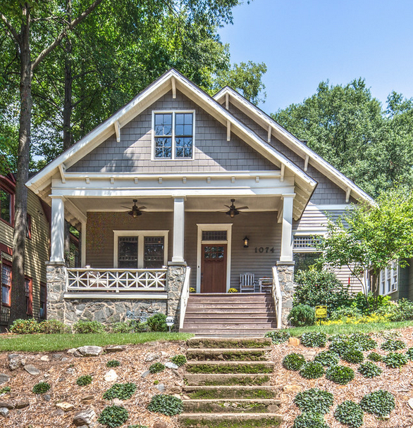 Renovated Craftsman Style Bungalow in Inman Park Hits the Market