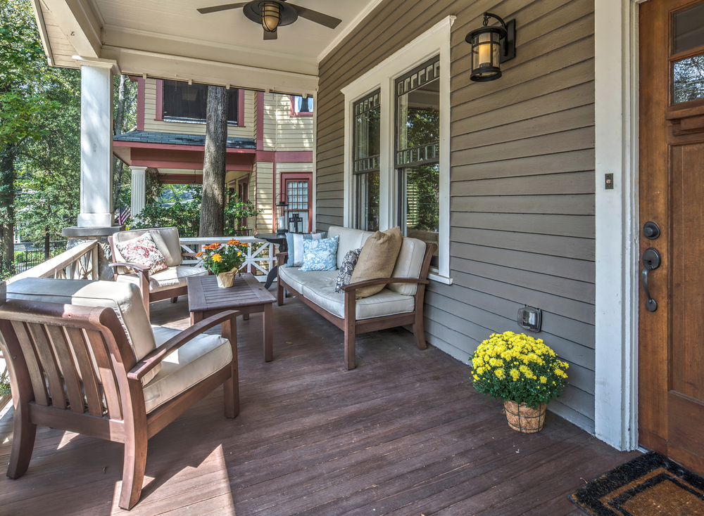 Craftsman Front Porch