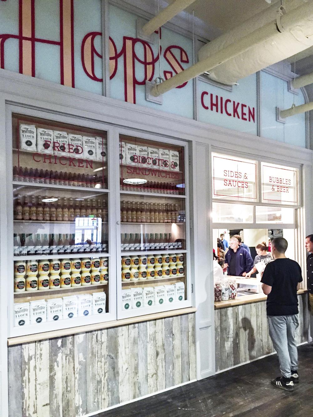 Hops Chicken - Chef Linton Hopkins (Restaurant Eugene and Holeman & Finch Public House)