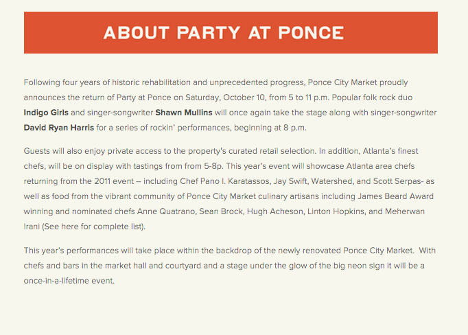 Party at Ponce