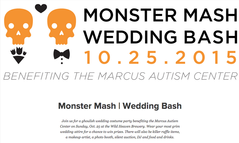 Monster Mash Wedding Bash