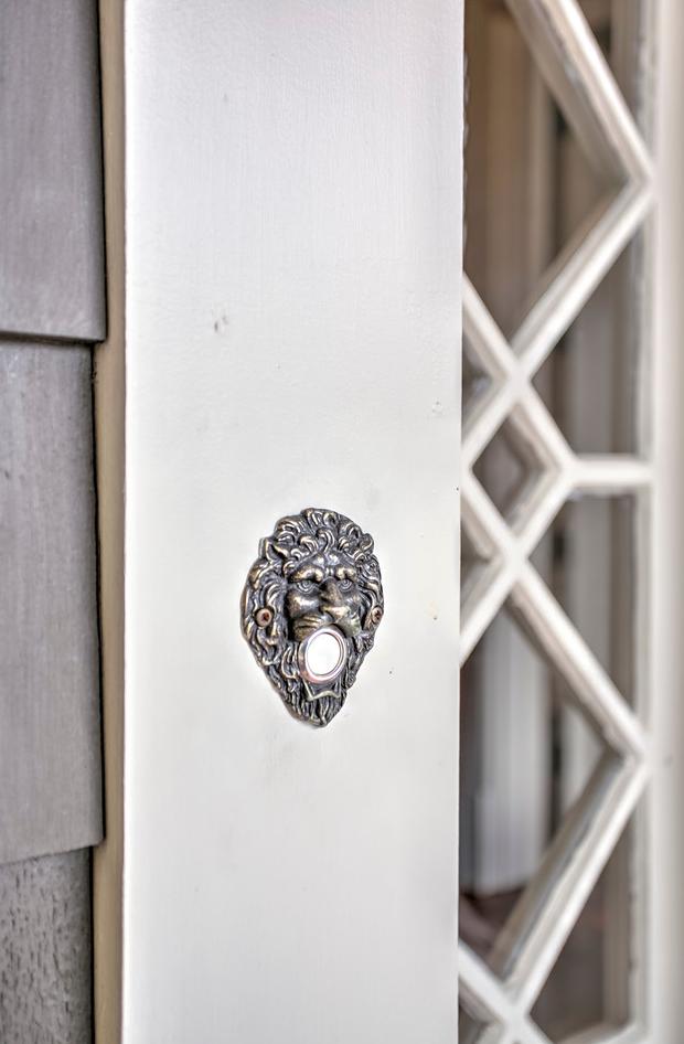 Antique Doorknob Detail