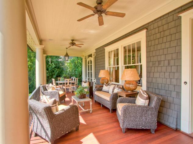 open air porch