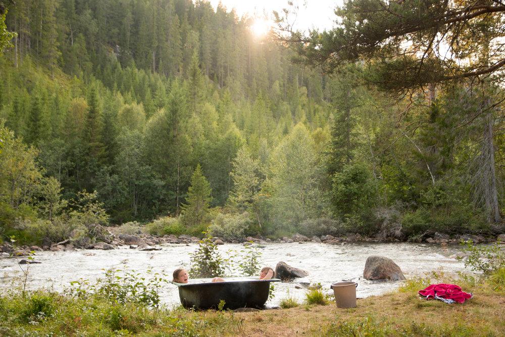 BushBath - Woodfired baths on the banks of Tessungåe!