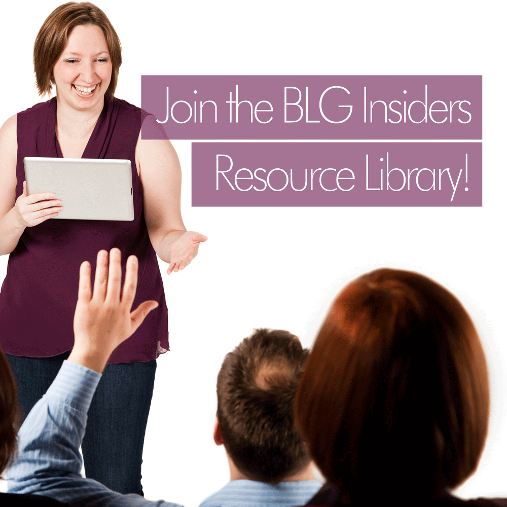 Want to get these helpful business and marketing updates in your inbox every week? Want exclusive access to all of my marketing & social media download resources and how-to videos? PLUS access to our private Facebook Group? Become a BLG Insider! -