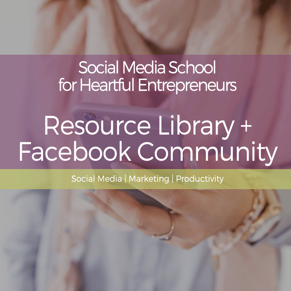 Want more great social media tutorials like this? Sign up and access an entire library of how-to videos (plus downloadable resources & live support in a private community)! - PS...IT'S FREE TO BECOME A STUDENT :)