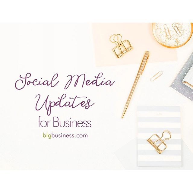 Here is what happened up to the end of 2018 in social-media-land!⠀ ⠀ 👉If you're using Facebook or Facebook Groupsyou'll be interested to check out automated responses, recommendations and mentoring inside groups, and changes to ad copy requirements.⠀ ⠀ 👉If your jam Instagramcheck out the updates to stickers and 'close friends' for stories, plus increasedaccessibilityfor the visually impaired and what you might want to do.⠀ ⠀ 👉If you're focused on Pinterestand you're doing ads, take a look at the new carousel format.⠀ ⠀ 👉If you have videos on Youtubeyou'll want to hear about the discontinuation of annotations.Details here.⠀ ⠀ 👉If you use Google My Businessthey have a mobile app for on the go posting.⠀ ⠀ ⠀ Tap the link in my bio for all of the details!⠀ ⠀ ⠀ ⠀ #facebookads #facebookgroups #instagramstories #pinterestads #googlemybusiness #socialmediaupdates #blgbusiness #getshitdone #figureshitout #womeninbiz