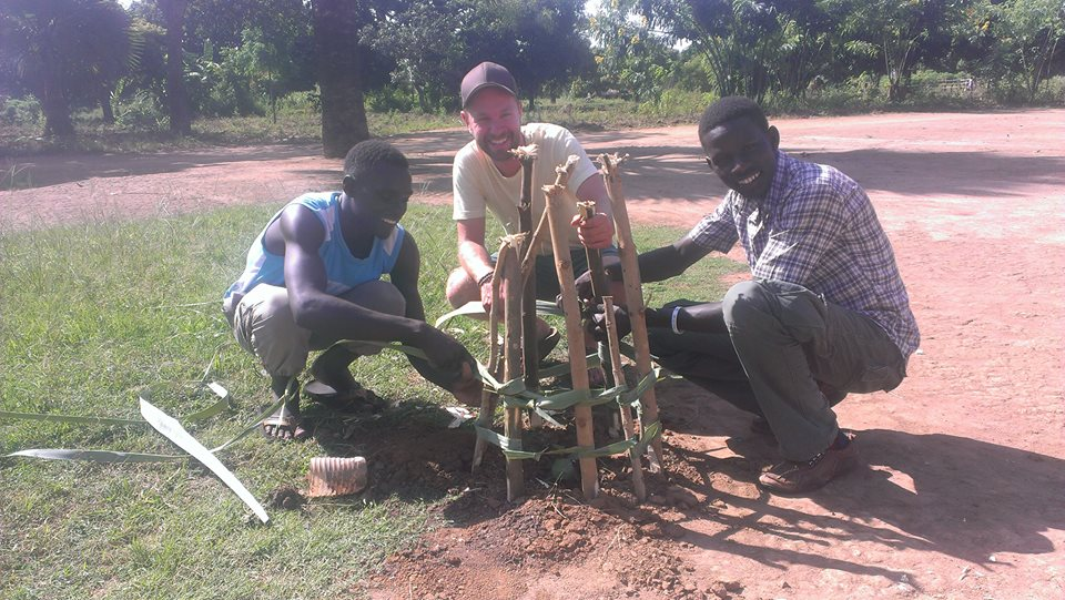 Click on this photo to read EG Uganda's project Go Green Global Campaign!