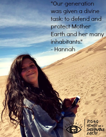 Hannah Zaritsky, age 16