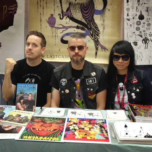 The Humans team at SD Comicon 2014