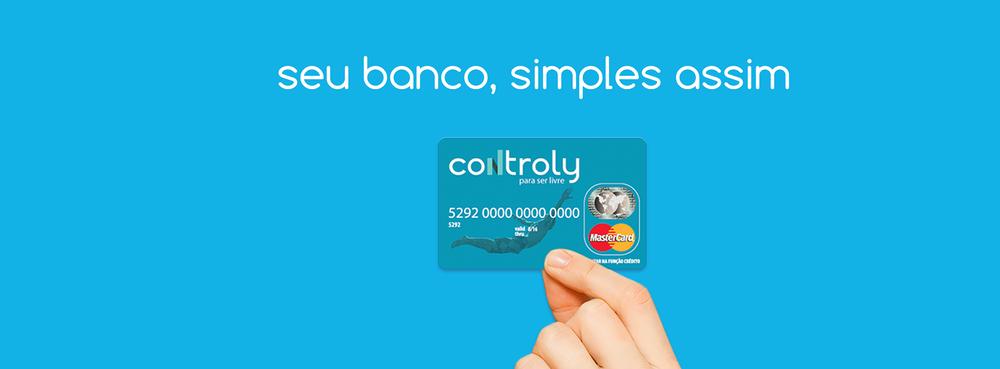 Cartão Controly MasterCard.
