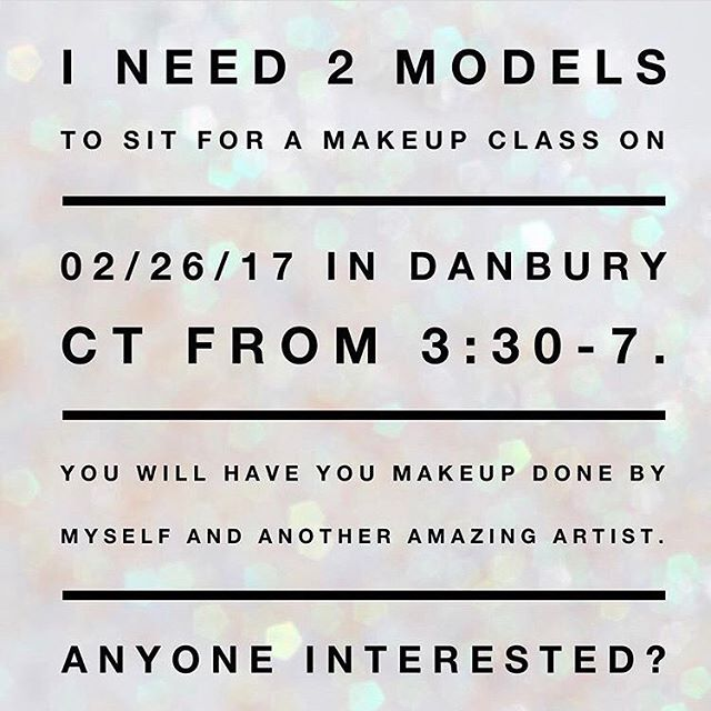 Models needed! Let me know if you are interested, or tag someone that you think might be 😊