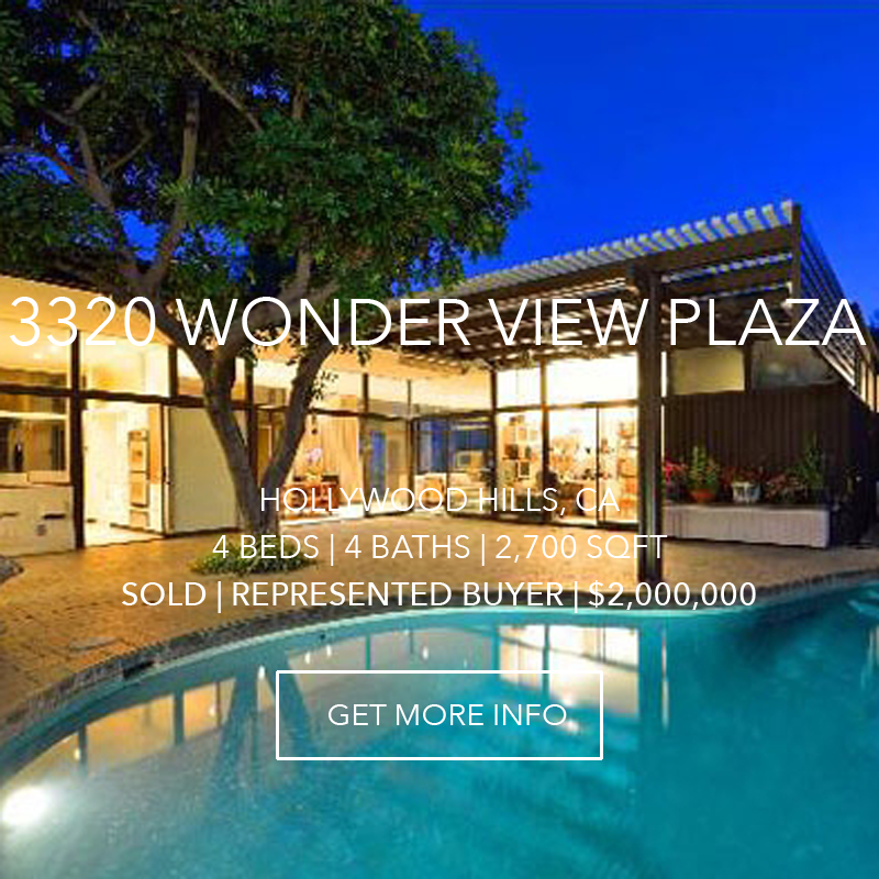 3320 Wonder View Plaza | Hollywood Hills