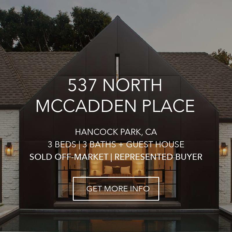 537 N. McCadden Place | Hancock Park