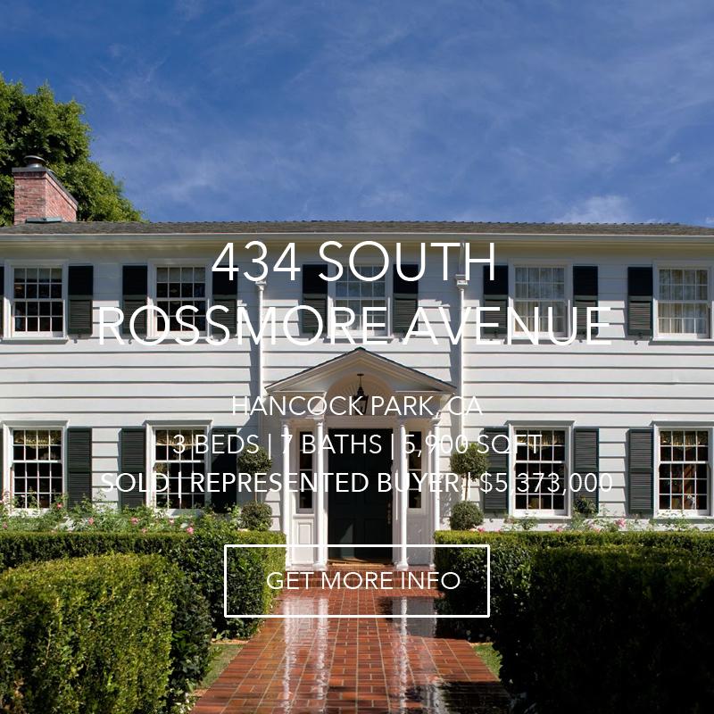 434 S. Rossmore Avenue | Hancock Park