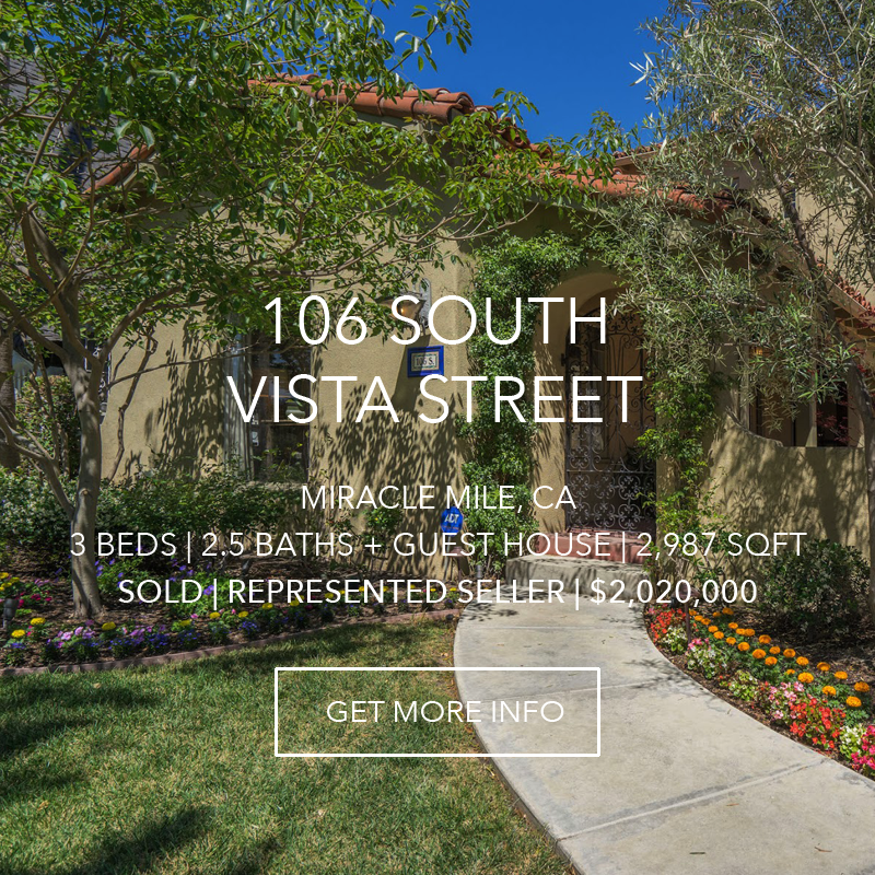 106 S. Vista Street | Miracle Mile