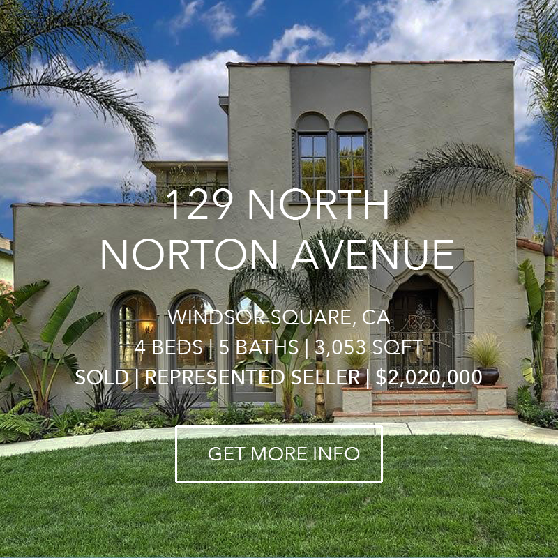 129 N. Norton Avenue | WIndsor Square
