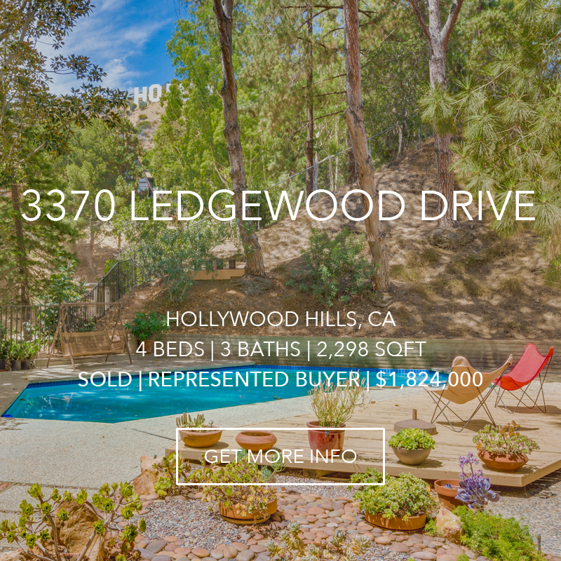 3370 Ledgewood Drive | Hollywood Hills