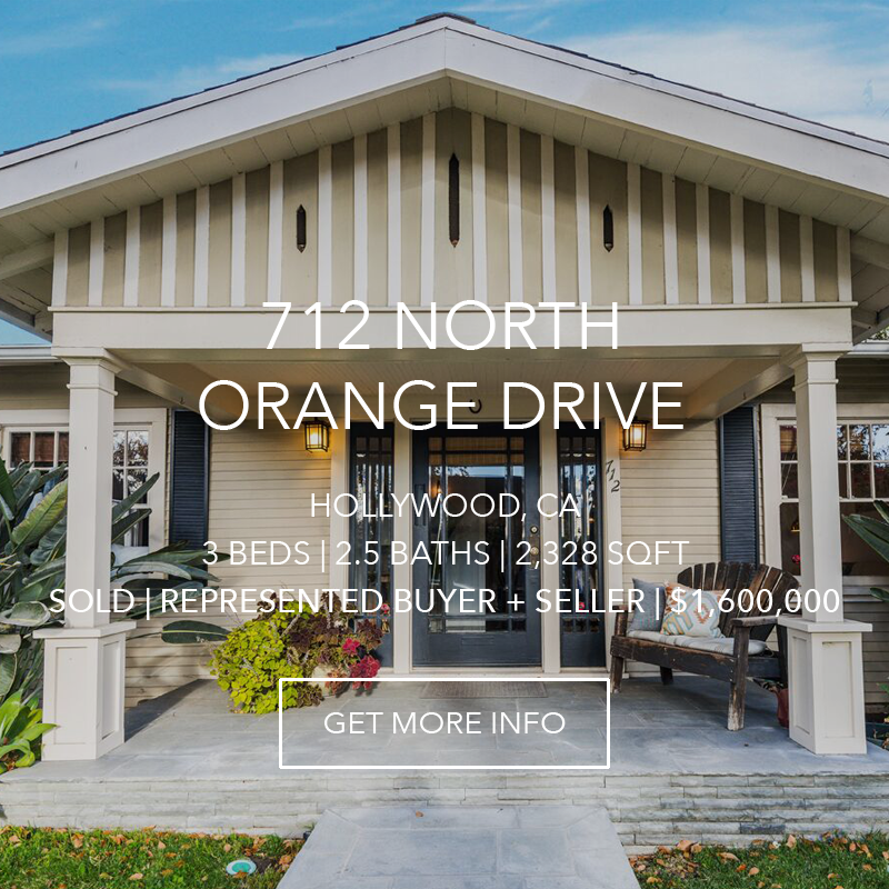712 N. Orange Drive | Hollywood