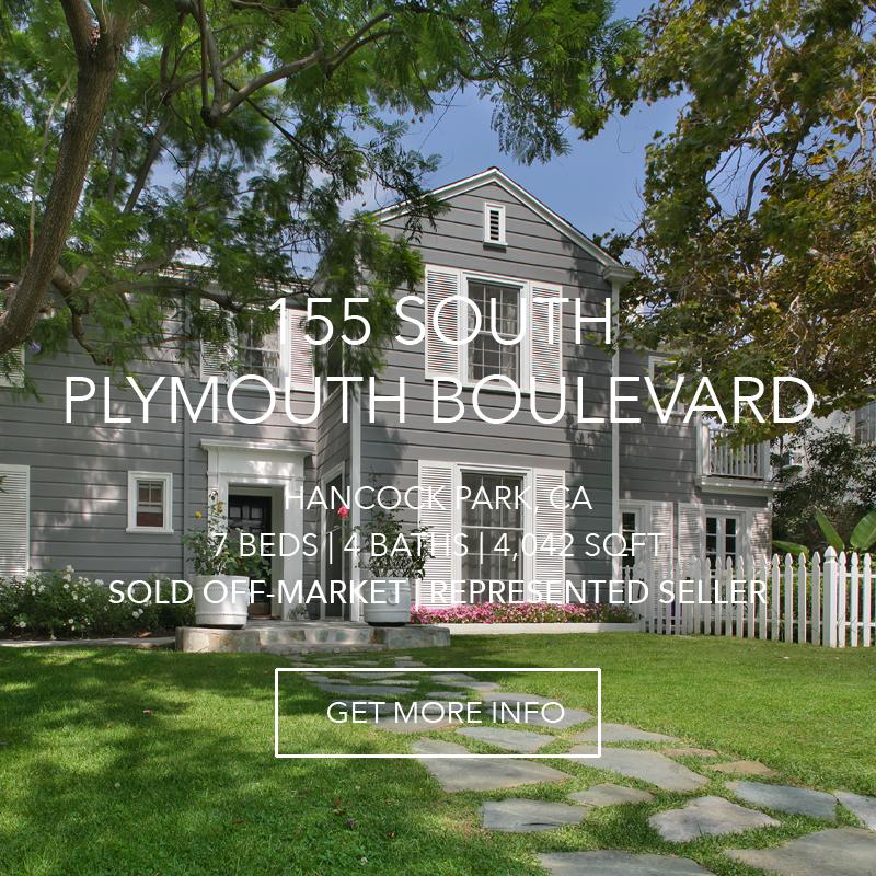 155 S. Plymouth | Hancock Park