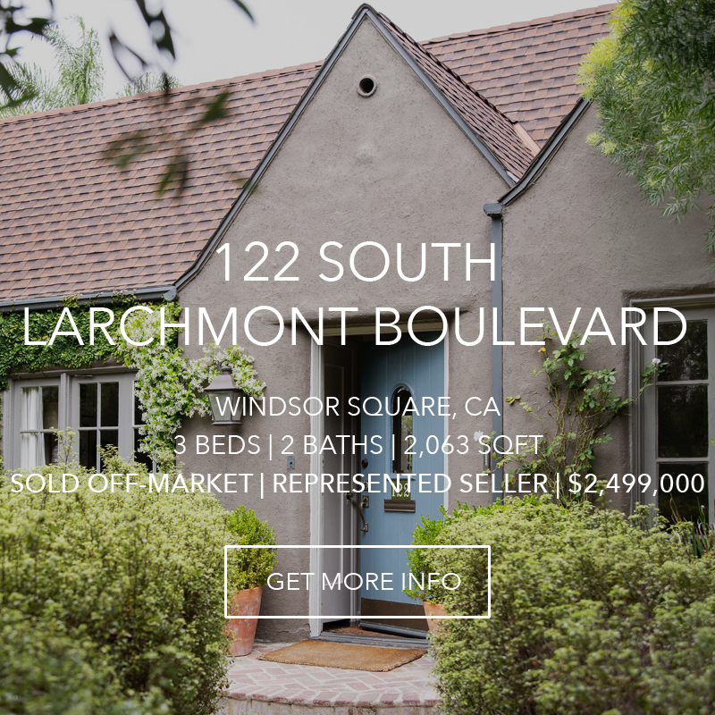122 S. Larchmont | Windsor Square