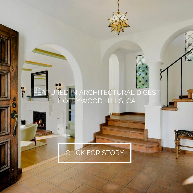 Hollywood Hills Home   Featured in AD