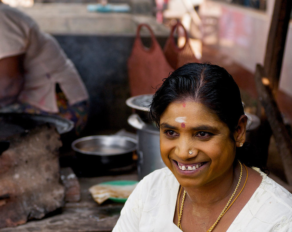 Thanaka has long been part of Kalima's daily ritual. She has applied it 2 times every day since she was a young girl.