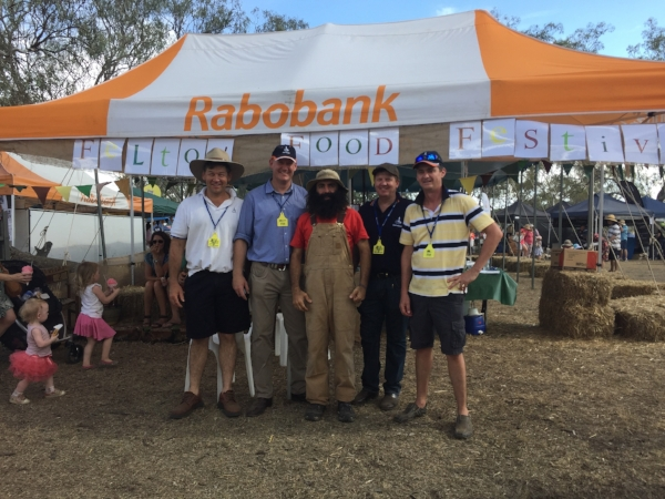 Rabobank Marquee at Felton Food Festival 2016