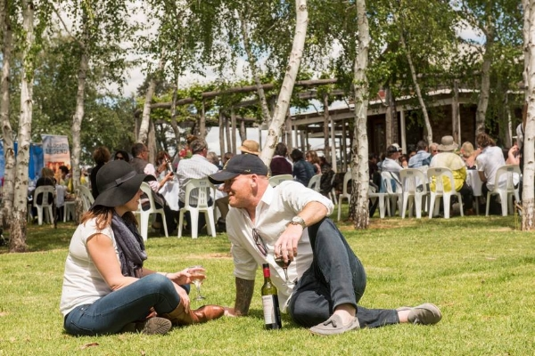 Piccolo Family Farm's Autumn Festival, part of Taste Riverina, NSW