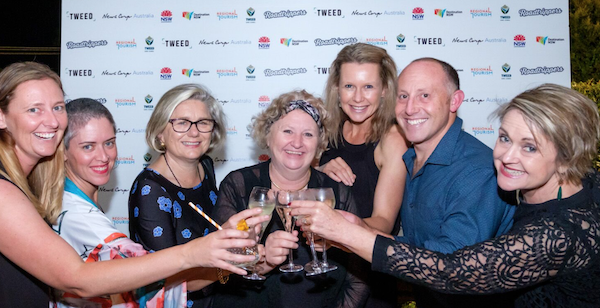 The 2019 Australian Regional Tourism board, including Linda Tillman of Tilma Group