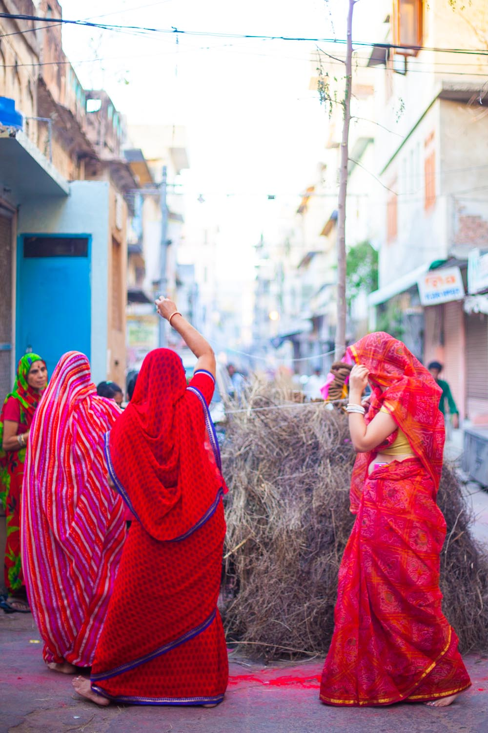 Holi is a celebration of the beginning ofspring, it's also seen as a victory of good over evil