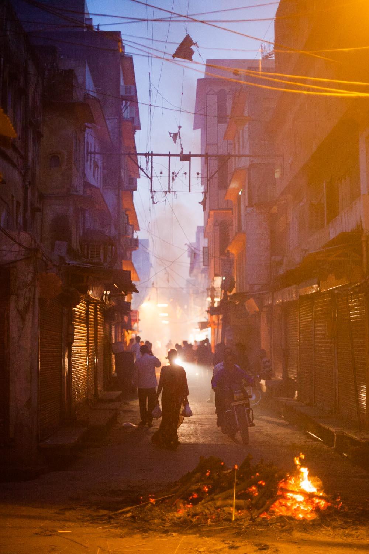 Holika Bonfires in the Pink City: Jaipur, Rajasthan