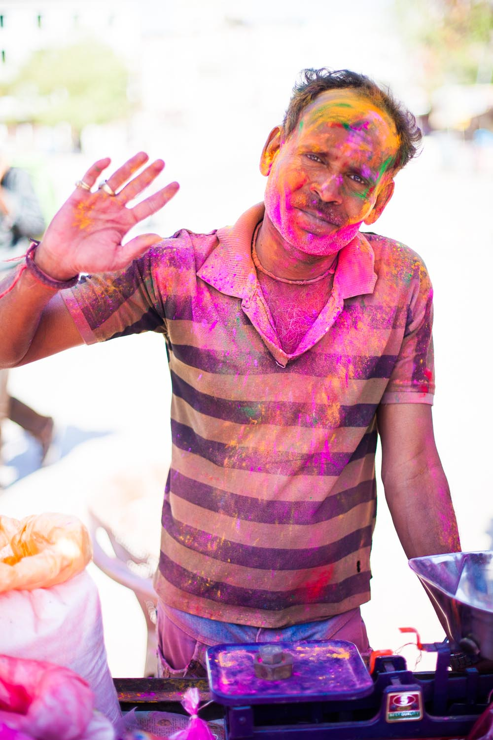 Holi is celebrated everywhere, all over India and Nepal