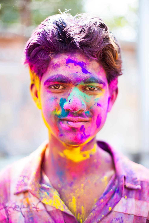 Happy Holi! Jaipur, Rajasthan
