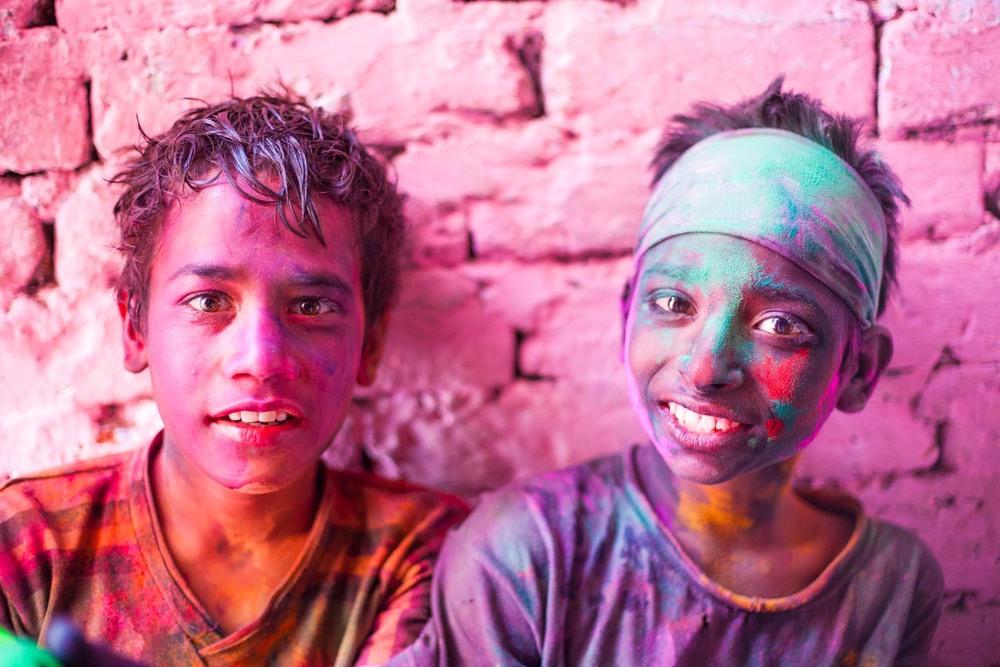 Holi in The Pink City: Jaipur, Rajasthan