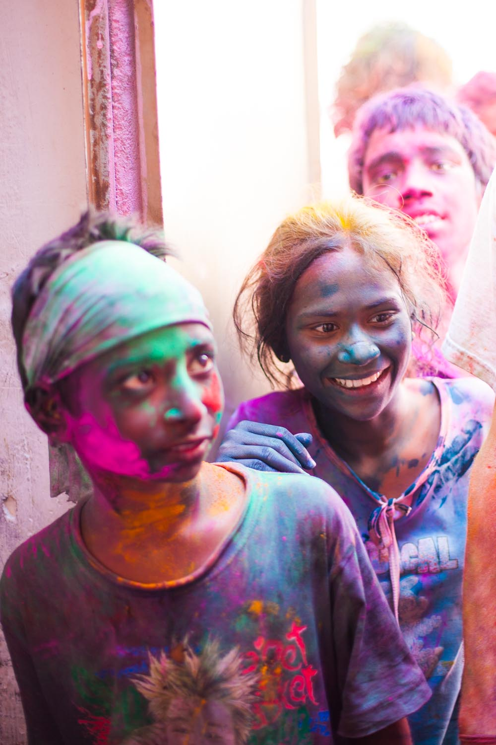 Holi is a day of community, and a day to forgive and move on from the past. For some it is the markof a new year.