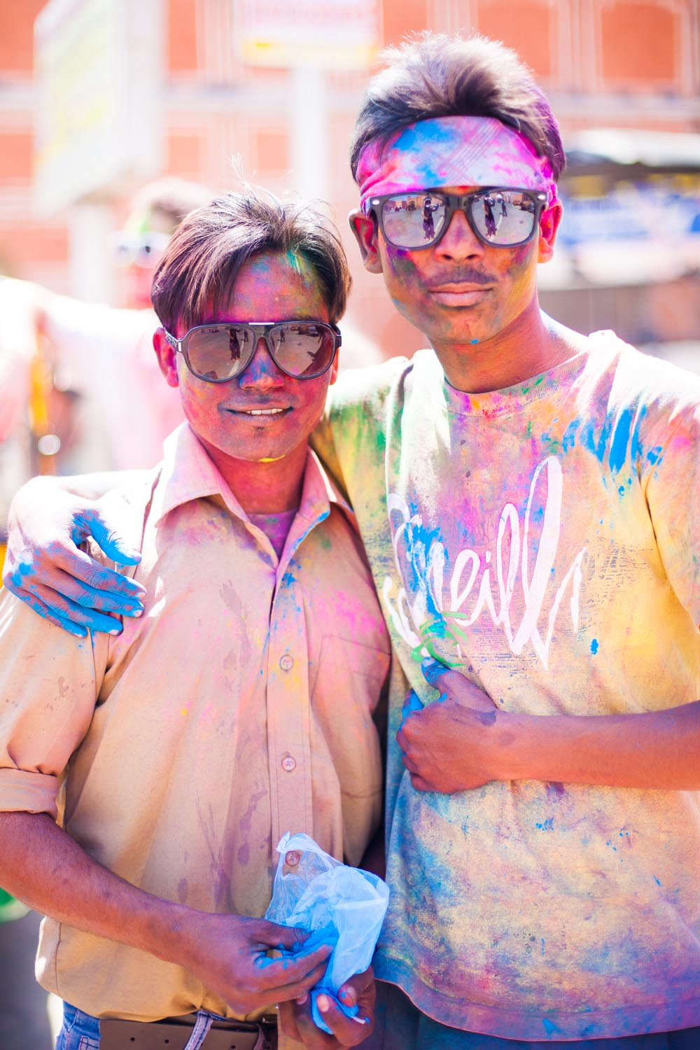 Holi is very significant for many people in India, and it has very ancient and culturally rich roots: Jaipur, Rajasthan