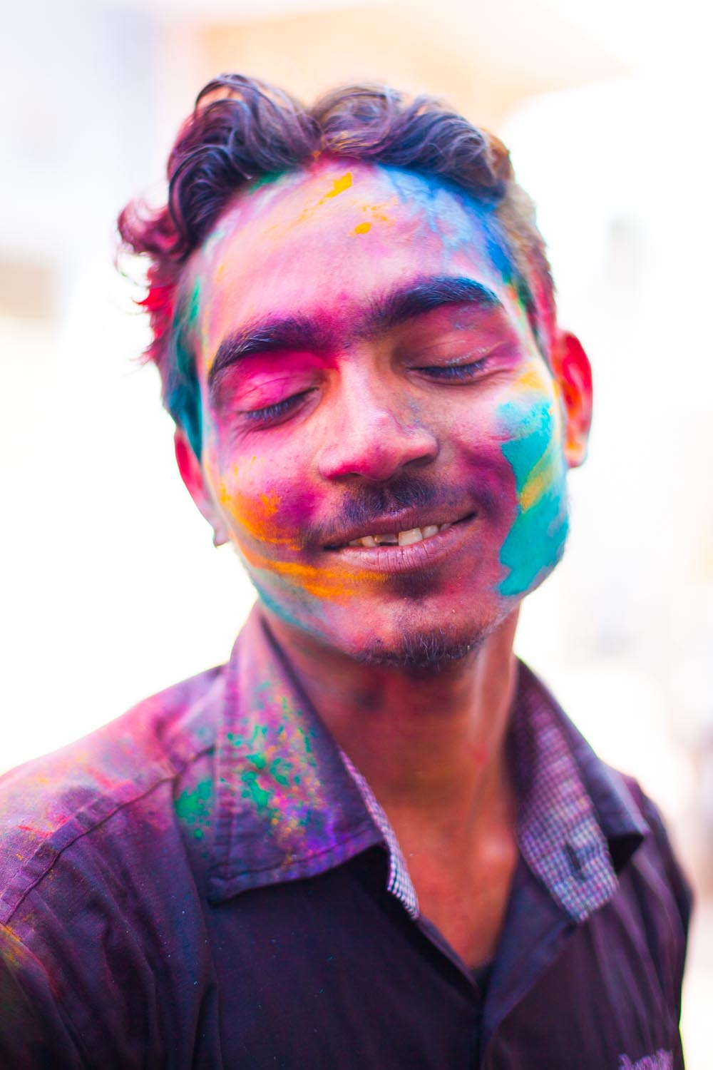 Holi; a day of celebration, love and hapiness: Jaipur, Rajasthan