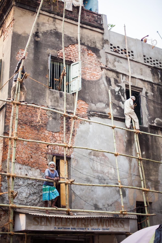Bamboo Scaffolding: Kolkata