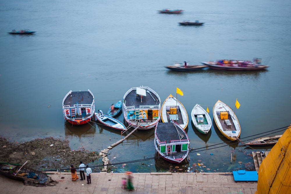 The Ganga: Varanasi, Uttar Pradesh