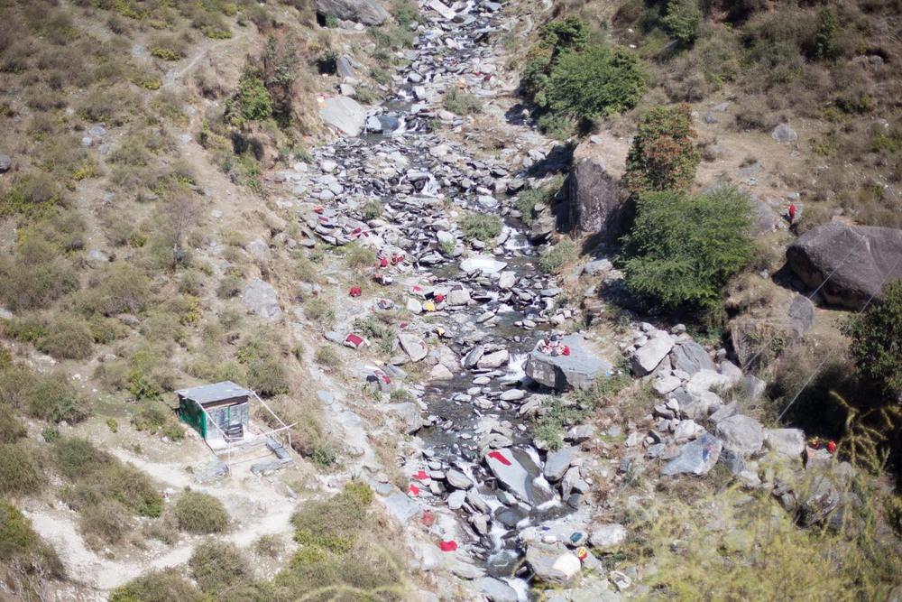 Monk's Laundry: Dharamsala, Himachal Pradesh