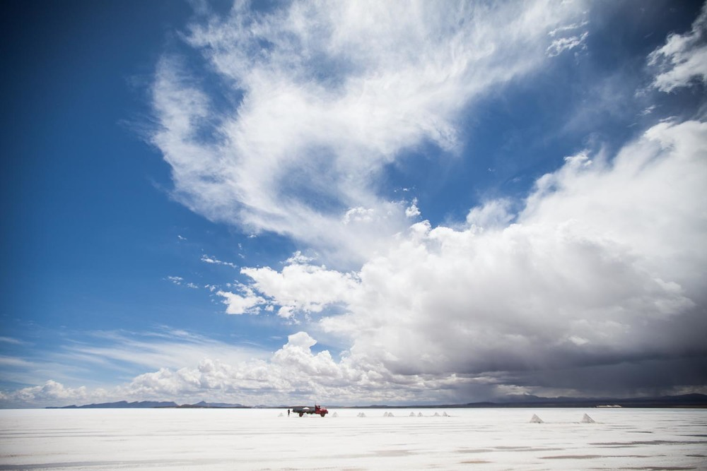 The Salt Flats: Altiplano, Bolivia