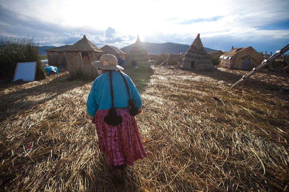 Uros Floating Islands: Lake Titicaca, Peru