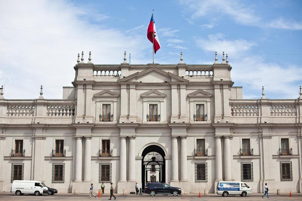 Palacio de la Moneda: Santiago, Chile